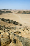 Northern Sahara Desert Royalty Free Stock Images