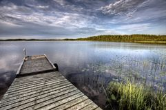 Northern Saskatchewan Lake Stock Photography