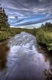Northern Saskatchewan Lake Royalty Free Stock Photo