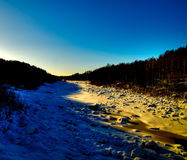 Northern scenery Royalty Free Stock Photo