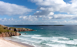 Northern Scottish coastline Royalty Free Stock Images