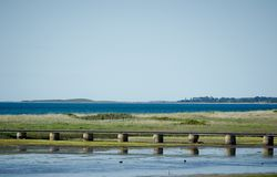 Northern sea, Denmark Royalty Free Stock Images