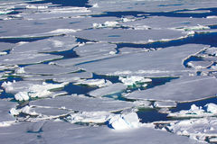 Northern sea ice background winter bright Stock Photo