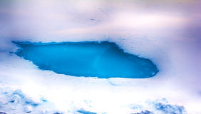 Northern sea ice background winter bright Royalty Free Stock Photo