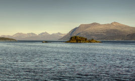Northern Sea Tromso Royalty Free Stock Photography
