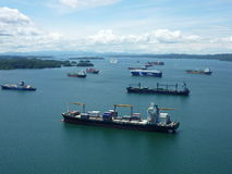 Northern section of Gatun Lake Royalty Free Stock Images