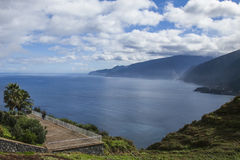 Northern shore of Madeira, Portugal. Stock Image