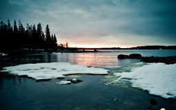 Northern shoreline Royalty Free Stock Photos