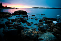 Northern shoreline Stock Images