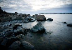 Northern shoreline Stock Photo