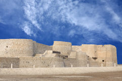 Northern side of Bahrain fort Royalty Free Stock Images