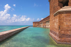 Northern Side of Fort Jefferson Stock Images