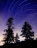 Northern sky and stars Stock Photo