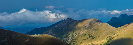 Northern slope of mount Urup. Caucasus mountains. Royalty Free Stock Photo