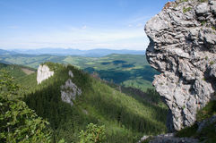 Northern Slovakia. View of the countryside in northern Slovakia royalty free stock photos