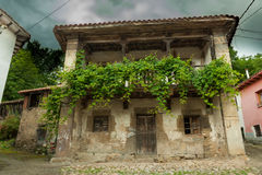 Northern Spain village Stock Photos