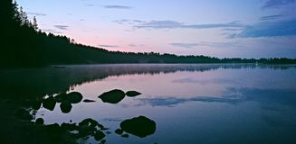 Northern Sweden. Summer, vaccation, view, north, Sweden royalty free stock photo
