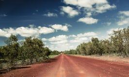 Northern Territory road Stock Photo
