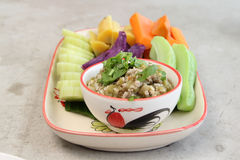 Northern Thai cuisine Royalty Free Stock Photography