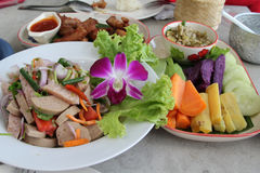 Northern Thai cuisine Royalty Free Stock Photos
