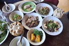 Northern Thai food Royalty Free Stock Images