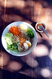 Northern Thai noodle salad Royalty Free Stock Image