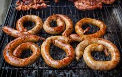 Northern Thai Sausage. Royalty Free Stock Image