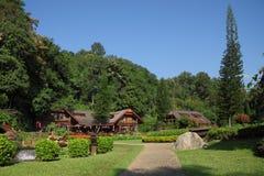 Northern Thai style house resort Stock Photos