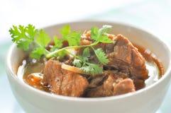 Northern Thai style pork curry with garlic,pork stew Royalty Free Stock Photos
