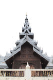 Northern Thai style roof Royalty Free Stock Images