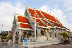 Northern Thai style Temple Stock Image