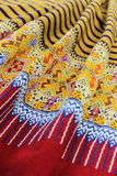 Northern Thai Traditional Sarong , Chiang mai Thailand Stock Image