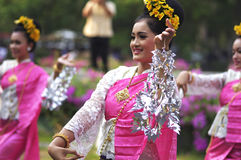 Northern Thailand local performance Royalty Free Stock Images