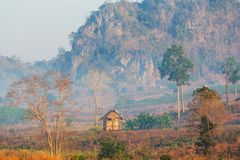 Northern Thailand. Rural landscapes in Northern Thailand royalty free stock images