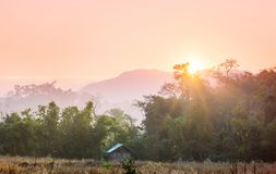 Northern Thailand. Rural landscapes in Northern Thailand royalty free stock photos