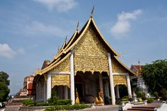 Northern Thailand Temple Royalty Free Stock Photo