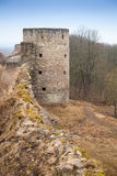 Northern tower of ancient Koporye Fortress Stock Photography