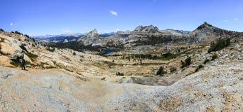 Northern Yosemite Panorama - California, USA Royalty Free Stock Images