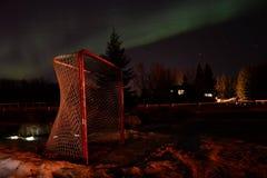 NorthernLights το Μάρτιο του 2015 Στοκ Φωτογραφίες