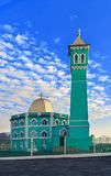 The northernmost mosque in the world Nurd Kamal.  Stock Images