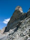 Northface de Eiger en las montan@as Foto de archivo libre de regalías