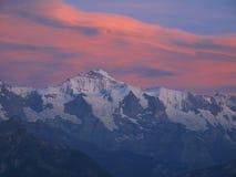 Northface de Jungfrau Imagens de Stock Royalty Free