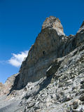 Northface of Eiger in Alps royalty free stock photo
