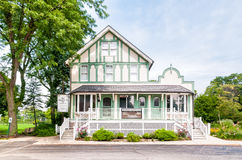 The Northfield Inn museum and home of Northbrook historical society in the Northbrook village. Northbrook, Illinois, United States - August 22, 2014: The Royalty Free Stock Photos