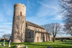 Northfolk kyrka Arkivbild