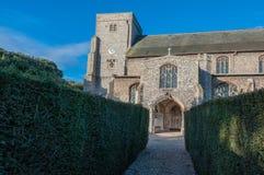 Northfolk kyrka Royaltyfri Bild