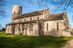 Northfolk kyrka Royaltyfri Foto