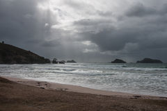 Northland. View of the ocean shore at the east side of Northland, North Island, New Zealand Stock Images