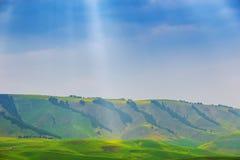Northland von Xinjiang-Provinz in China Stockfotografie