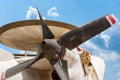 Northrop Grumman E-2 Hawkeye, disperso nell'aria tattico trasportatore-capace fotografia stock